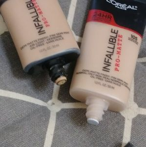NWT Loreal pro matte 105 ONLY